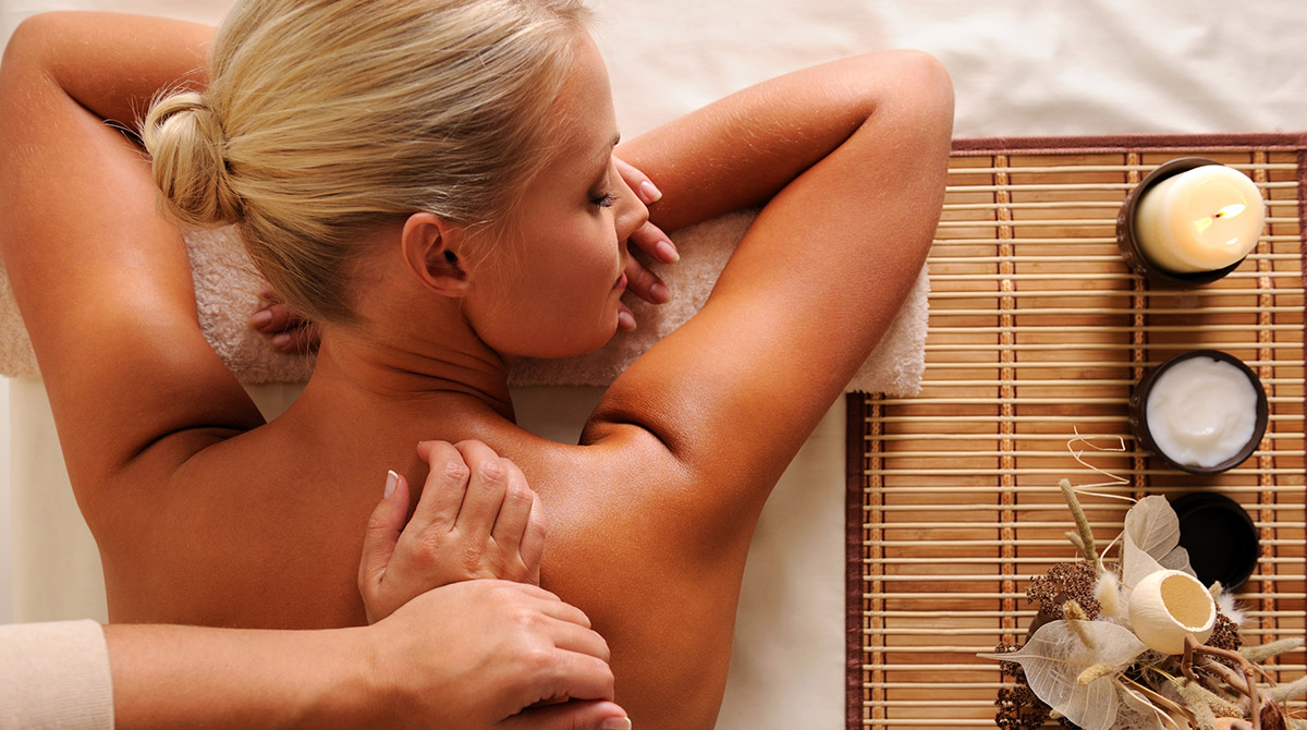 Тайский массаж для баб 14 фотография